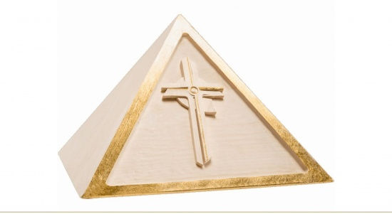 Pyramide mit oder ohne Kreuz   <small>(U78)</small>